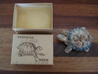 Vintage Wade Tortoise Trinket Dish In Original Box Perfect Condition