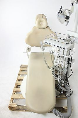 DentalEZ Operatory Package: Dental Chair w/ Light, Delivery System, & Stools