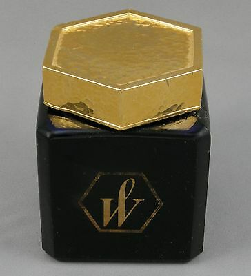 Waterman Blue Glass w/Gold Cap Special Edition Ink Bottle