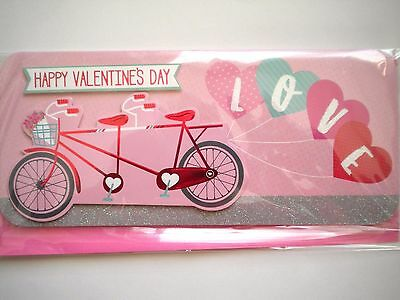 """Luxury Embellished 3D """"love"""" Happy Valentines Day Greeting Card"""
