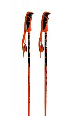 Kerma Vector Pair Of Ski Poles, 120cm, Orange