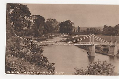 The Victoria Bridge Hereford, Judges 3545 Postcard, A873