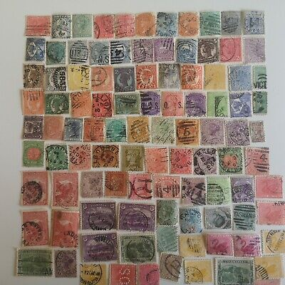 100 Different Australian States Stamp Collection