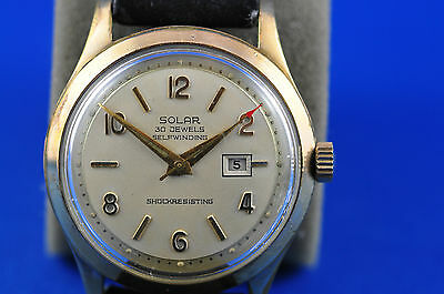 Vintage and Highly Collectible Eatons Solar Brand Wristwatch