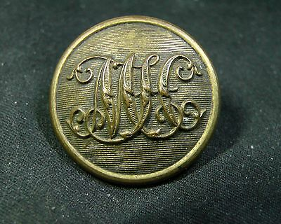 Late 19th Century MUSKERRY HUNT CLUB (IRISH) GILT DRESS Button Firmin