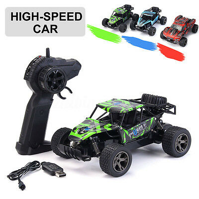 1:20 2WD High Speed RC Racing Car 4WD Remote Control Truck Off-Road Buggy Toys
