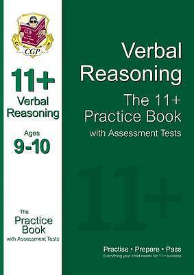 The 11+ Verbal Reasoning Practice Book with Assessment Tests (Ages 9-10), CGP Bo