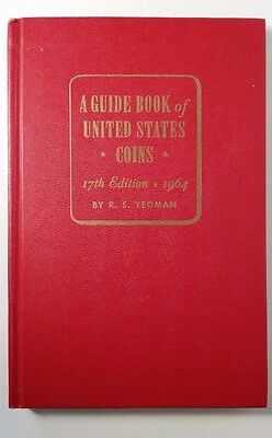 R.S. Yeoman Guide Book of US Coins 17th Edition 1964 Red Book