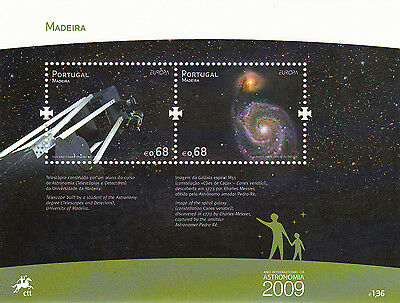 Portugal S / S Europa Cept Madeira  (2009)  Mnh