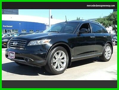 2008 Infiniti FX Base Sport Utility 4-Door 2008 Used 3.5L V6 24V Automatic Rear Wheel Drive SUV Moonroof Premium Bose