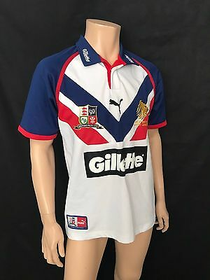 Great Britain Rugby League Jersey, Medium, 2004-07 RL World Cup, Puma, Fantastic