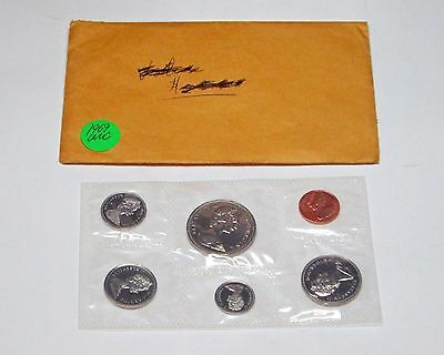 1969 Canadian Official  uncirculated coin set