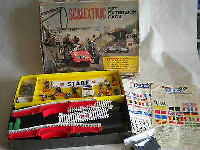 Vintage Scalextric Set Extension pack HP/1 1960s some french parts