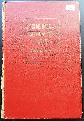 Vintage R.S. Yeoman Red Guide Book of United States Coins, 10th Edition, 1957