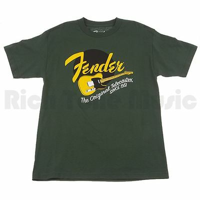Fender Original Tele T-Shirt - Green - XXL