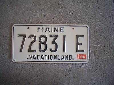 Maine Vacationland 1984    License Plate    Buy All States Here