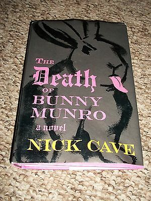 The Death Of Bunny Munro By Nick Cave Hardcover Book Free Shipping!!!