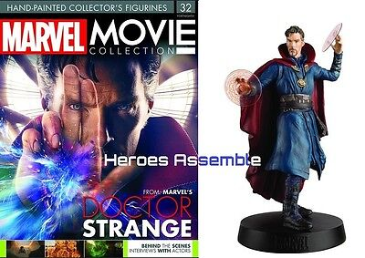 Marvel Movie Collection #32 Doctor Strange Dr Figurine Eaglemoss (30 31) New