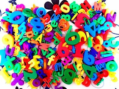 Well Over 200 Magnetic Letters & Numbers. Educational Toys.
