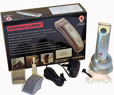 Clippers Trimmers Horse Dogs LIVERYMAN CLASSIC Cordless