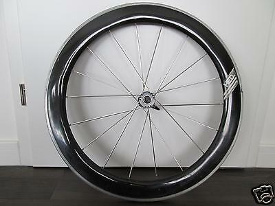"Vintage 1989 Hed Cx Carbon Aero Front Wheel Laufrad 700C 28"" Time Trial Tubular"