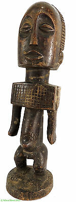 Buyu (Boyo) Male Figure Square Shoulders Congo African Art SALE WAS $225.00