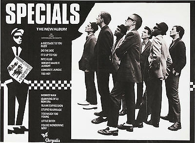 "The Specials Album 16"" x 12"" Photo Repro Concert Poster"