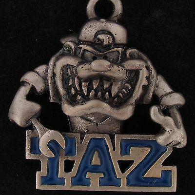 CHARM Taz Devil WARNER BROS LOONEY TUNES WB Pewter MECHANIC WRENCH GIFT 5335
