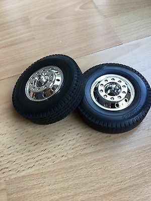 Tamiya Truck Front Wheels And Tyres