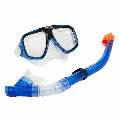 Intex Marketing 55948 Swim Mask Set, Polycarbonate Thermoplastic Rubber