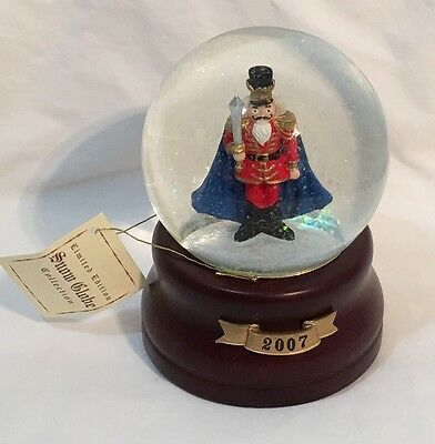 Nutcracker Musical Snow Globe 2007 Target Limited Collection Christmas Holiday