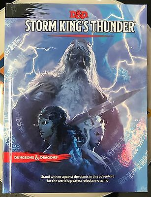 Storm King's Thunder- Dungeons & Dragons 5E- 5th Edition New
