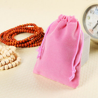 Portable Velvet Drawstring Jewelry Packaging Bag Gift 1PC Gifts Bags Pouches