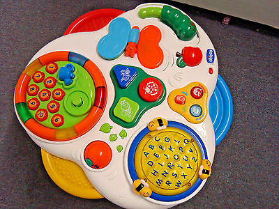 Chicco Activity Table *Languages *Talking *Music *Learning ** FUN