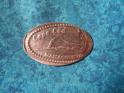 CAPE COD MASSACHUSETTS Elongated Penny Pressed Smashed 26