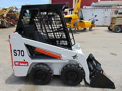 "2010 ""mini"" Bobcat S70 Backyard Skid Wheel Loader - Kubota Diesel - Low Hours"