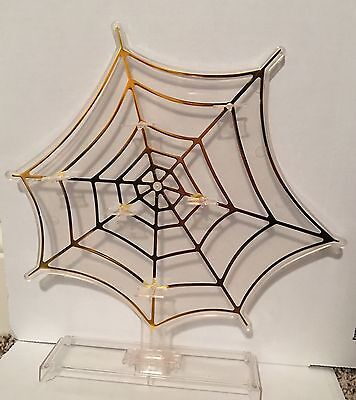New Spider Web Accessory Stand Gold Charlotte Olympia Barbie Accessories Shelves