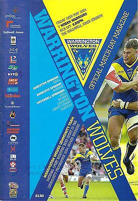 Warrington v Wigan - Super League - 2004