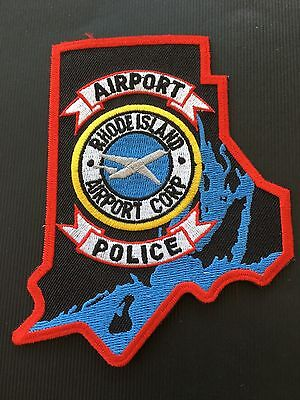 Rhode Island Airport Police  Shoulder Patch