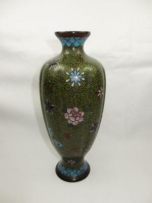 Antique Meiji Period Japanese Cloisonné Vase Circa 1880