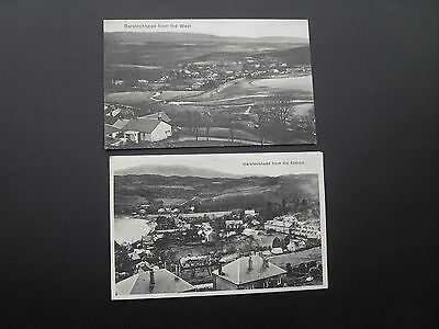 Garelochhead 2 early postcards - views from the Station & West