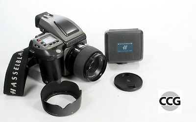 Hasselblad H1 kit (with 80mm, and one film back, two inserts)