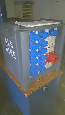 Zero88 ID1216 - 63A 3-PH Circuit breakers and dimmer pack