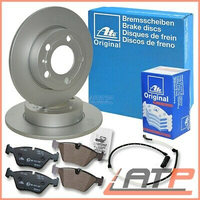 Ate Brake Discs 24.0110-0202.1 Solid Ø280 + Pads 13.0460-3605.2 Rear