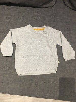 Baby Boy Grey Marks And Spencer's Autograph Outfit - Age 6-9 Months