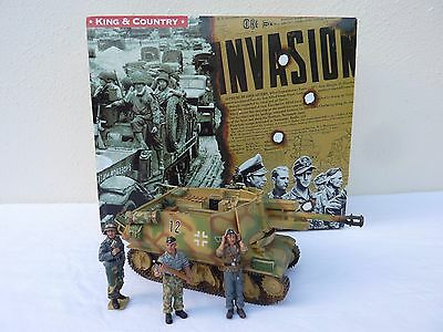 Pre-Owned King And Country WWII German Forces WSS73 - German 105 Assault Gun