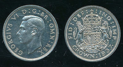 1937 George VI....Proof CROWN...Straight from Set...SUPERB...Fast Post