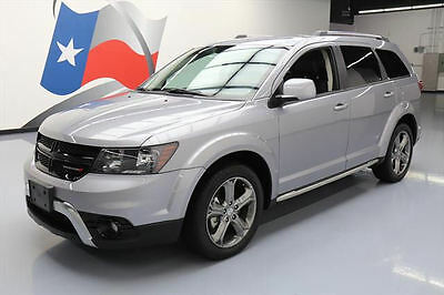 2016 Dodge Journey  2016 DODGE JOURNEY CROSSROAD LEATHER BLUETOOTH 19'S 29K #214493 Texas Direct