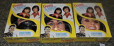 1977 set of 3 osmonds tv show halloween costumes nos donny marie jimmy music