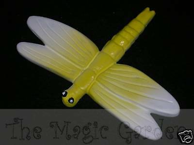 Medium dragonfly concrete plaster craft latex moulds molds